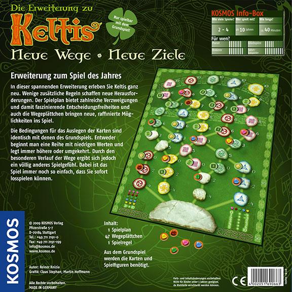 Keltis - Erweiterung